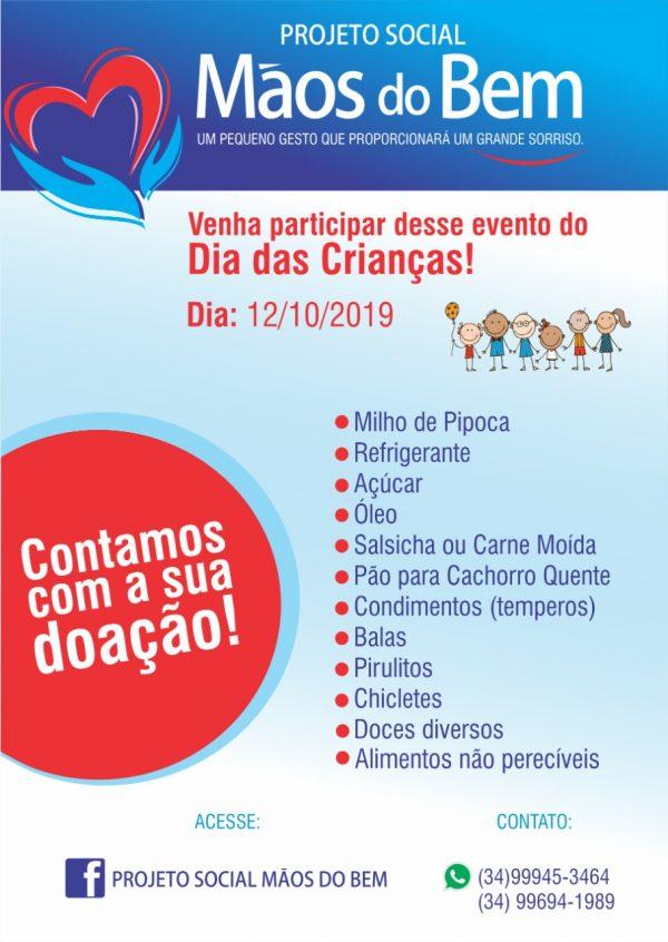 """Foto Capa: Ronei Rodrigues da Silva/Projeto Social """"Mãos do Bem"""""""