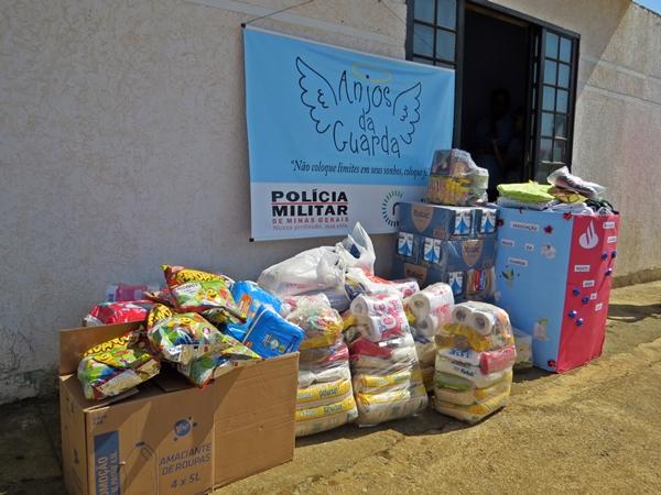 Doações realizadas (Foto: SG AGORA)