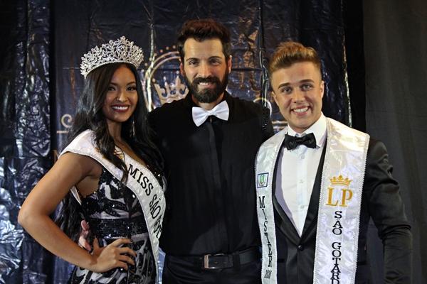 Lauro Prados e novos Miss e Mister São Gotardo (Foto: SG AGORA)