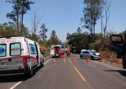 Motorista de São Gotardo morre em trágico acidente com engavetamento na BR-262