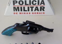 Jovem efetua disparo de arma de fogo para o alto e é preso em São Gotardo