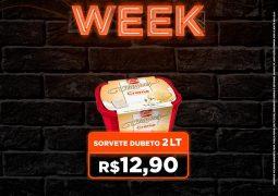 BLACK WEEK Supermercado São Vicente: Terça-feira é dia de sorvete, refrigerante e guloseimas em promoção!