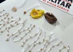 Homem suspeito de tráfico de drogas é preso em São Gotardo