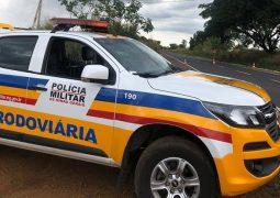 Homem é preso por dirigir sob efeito de substância psicoativa durante operação da PMR na MG-235 em São Gotardo