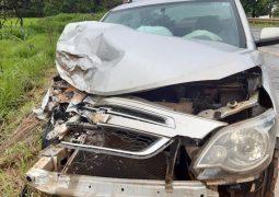 Acidente envolvendo veículo de São Gotardo é registrado nesta quinta-feira na BR-354