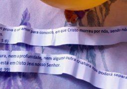 Balão do Bem: Grupo de Jovens Evangélicos espalham mensagens com o evangelho em residências de São Gotardo