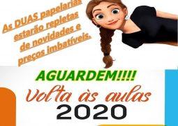 Papelarias ABC preparam mega promoção para a volta às aulas em São Gotardo e Guarda dos Ferreiros