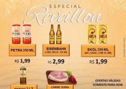 ESPECIAL RÉVEILLON: Supermercado São Vicente lança promoção imperdível nesta sexta-feira