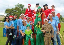 Em parceria com a UFV, Grupo Anjos da Guarda realizam ação emocionante de Natal no Campus de Rio Paranaíba
