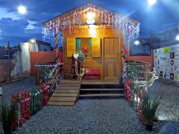 Em 2019, Casinha do Papai Noel da CDL está em novo endereço (Foto: SG AGORA)