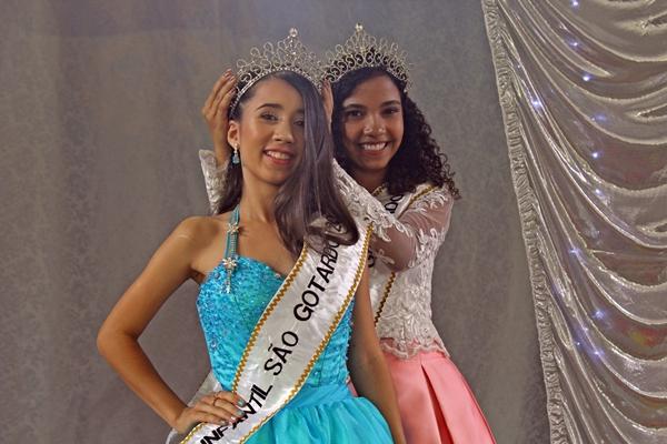 Misses Infantil 2020 e 2019 de São Gotardo (Foto: SG AGORA)