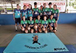 Em menos de 1 ano de existência, Time de Handebol Feminino de São Gotardo termina em 3º lugar em Liga Regional