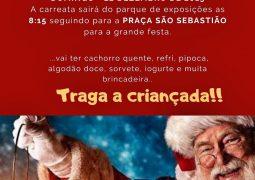 Em novo local, Natal do Menor acontece neste Domingo em São Gotardo
