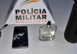 Homem é flagrado por câmera furtando estabelecimento comercial e acaba preso em São Gotardo