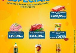 Quinta-feira também é dia! Supermercado São Vicente lança promoções imperdíveis somente hoje em São Gotardo