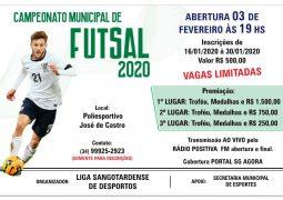 De volta: Campeonato Municipal de Futsal retorna em São Gotardo