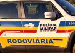 Acidente sem vítimas é registrado na MG-235 em São Gotardo