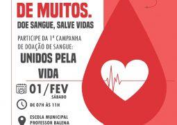 VOCÊ É A ESPERANÇA DE MUITOS: Campanha de doação de sangue acontece neste sábado em São Gotardo