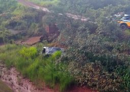 Possível ataque de abelhas provoca grave acidente em estrada vicinal do distrito de Abaeté dos Venâncios