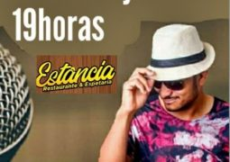 Diversão garantida: Restaurante, Casa de Shows, Espetaria e Choperia Estância trás show do cantor Luiz Martins neste sábado