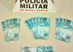 Estelionato: Autores de notas de cem reais falsificadas são identificados pela PM de São Gotardo