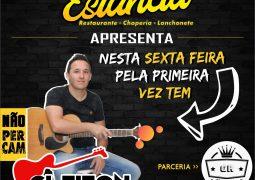 Estância: Com repertório Sertanejo Universitário, Cleiton Henrique se apresenta nesta sexta-feira em São Gotardo