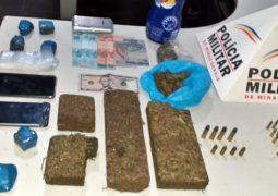 Autores suspeitos de cometerem roubos são presos em Gurda dos Ferreiros com drogas, munições e mudas de maconha