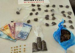Autor reincidente é preso mais uma vez pelo crime de tráfico de drogas em São Gotardo