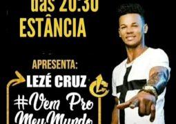 Ele está de volta! Lezé Cruz realiza show nesta sexta-feira em São Gotardo