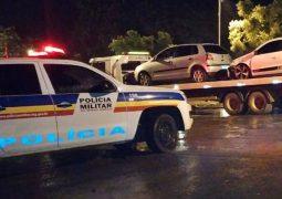 Polícia Militar realiza operação de combate a pertubação de sossego e 06 veículos são apreendidos em São Gotardo