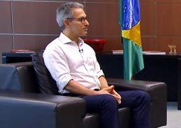 Assista: Em entrevista, Zema afirma que realizará um estudo sobre a volta do funcionamento do comércio em Minas Gerais
