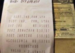 Crime frequente: Motorista é preso por embriaguez ao volante na MG-235 em São Gotardo