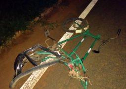 Ciclista morre em grave acidente na BR-354 em Rio Paranaíba