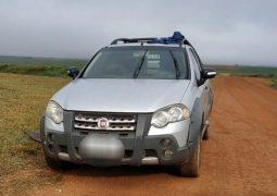PM impede roubo de defensivos agrícolas na zona rural de Rio Paranaíba