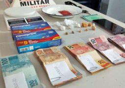 Motociclista é preso suspeito de tráfico de drogas em São Gotardo