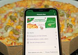 Com entrega gratuita, Pizzaria Dias lança aplicativo de Delivery para celulares em São Gotardo