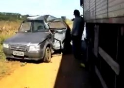 Morador de Guarda dos Ferreiros morre em grave acidente na BR-354