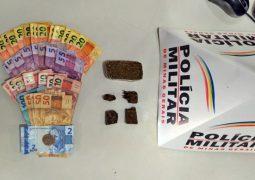 Homem é preso pelo crime de tráfico de drogas em São Gotardo