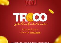 """Com ajuda da população, Supermercado São Vicente cria """"troco solidário"""" em prol do Lar do Idoso de São Gotardo. Clique e saiba como participar!"""