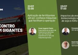 Encontro com Gigantes: Saiba quais os melhores equipamentos para aplicação de produtos em pó e entenda os impactos da biotecnologia nas culturas de soja e milho