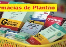 Farmácias de plantão em São Gotardo (08/05)
