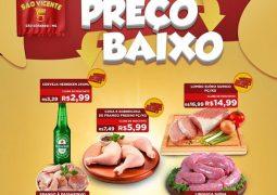"""IMPERDÍVEL: Supermercado São Vicente lança promoção """"VEM QUE TEM PREÇO BAIXO"""" em São Gotardo"""
