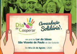 Dia C 2020: Cooperativas de São Gotardo realizam Arrecadação Solidária