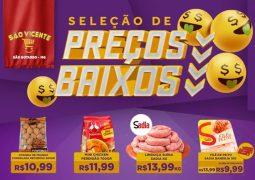Voltou! Supermercado São Vicente lança mais uma edição do Caderno de Ofertas Seleção de Preços Baixos em São Gotardo