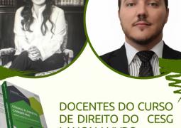 Docentes do curso de Direito do CESG lançam livro em São Gotardo