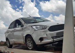 Casal discute dentro de veículo com placas de Rio Paranaíba, causando capotamento de automóvel na BR-354