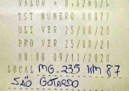 Motorista é preso por embriaguez ao volante na MG-235 em São Gotardo