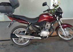 PM recupera moto roubada em São Gotardo e prende autor do crime