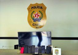 Homem suspeito de aplicar golpes pela internet em São Gotardo e Guarda dos Ferreiros é preso pela PC de Campos Altos