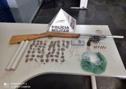 PM de São Gotado desencadeia Operação de combate ao Tráfico de Drogas e dois menores são apreendidos
